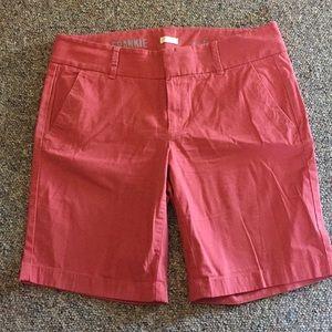 Jcrew Frankie shorts